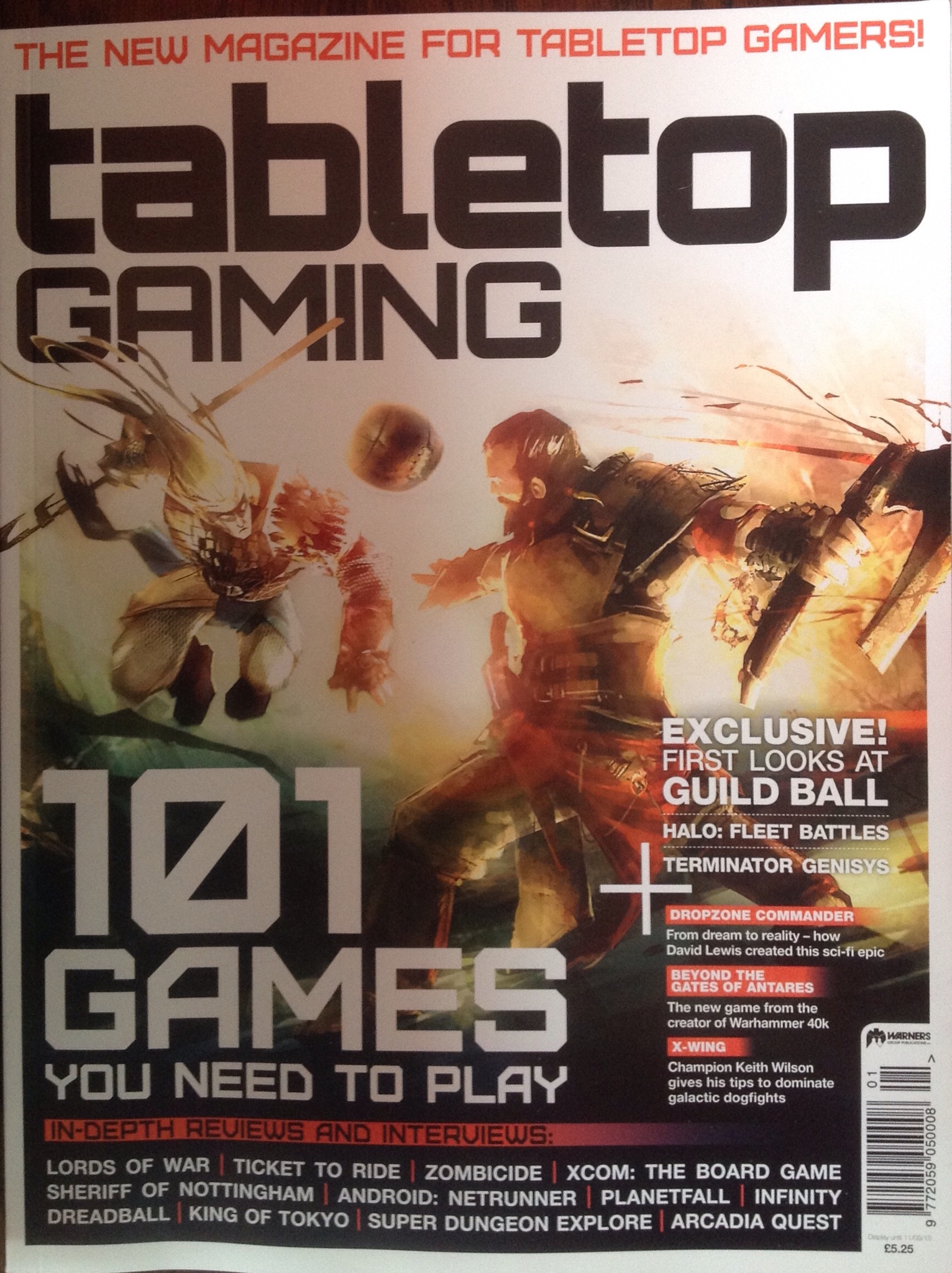 Tabletop Gaming the Magazine | Whitespider1066